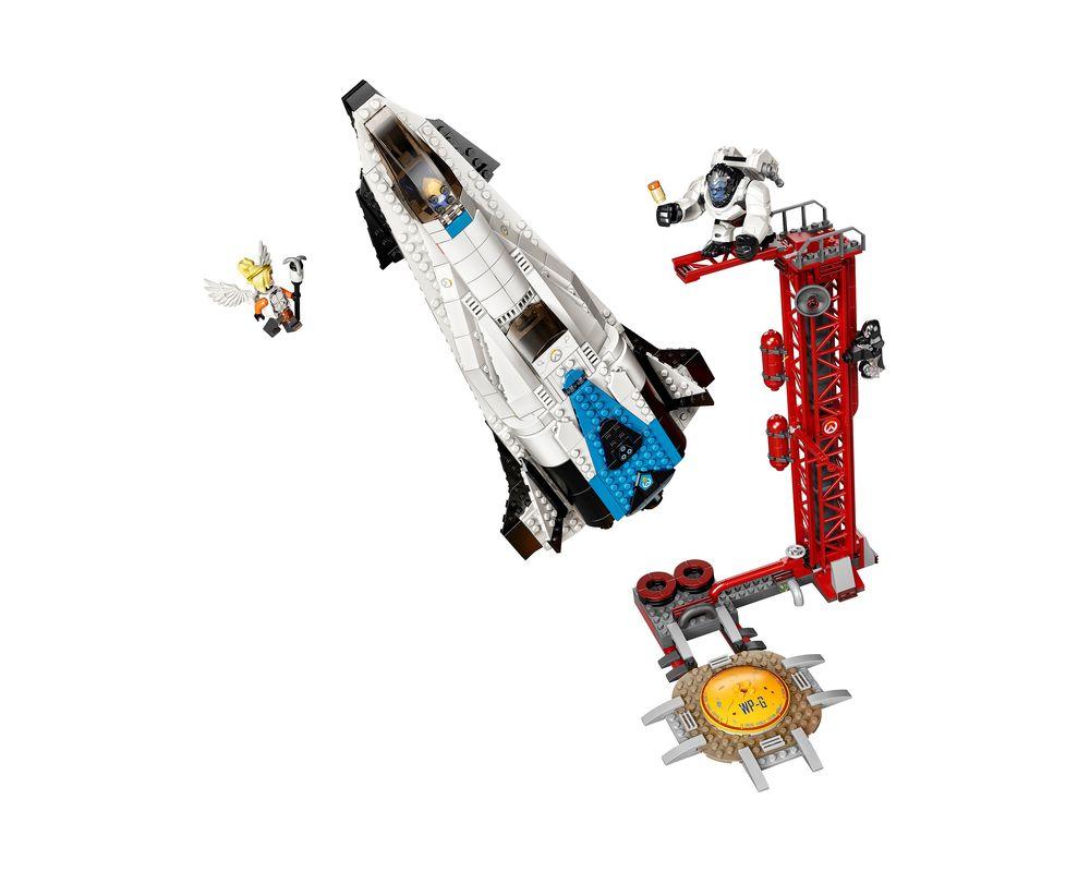 LEGO Set 75975-1 Watchpoint: Gibraltar (Model - A-Model)