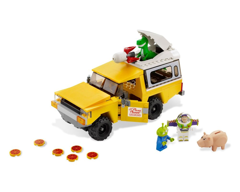 LEGO Set 7598-1 Pizza Planet Truck Rescue (Model - A-Model)