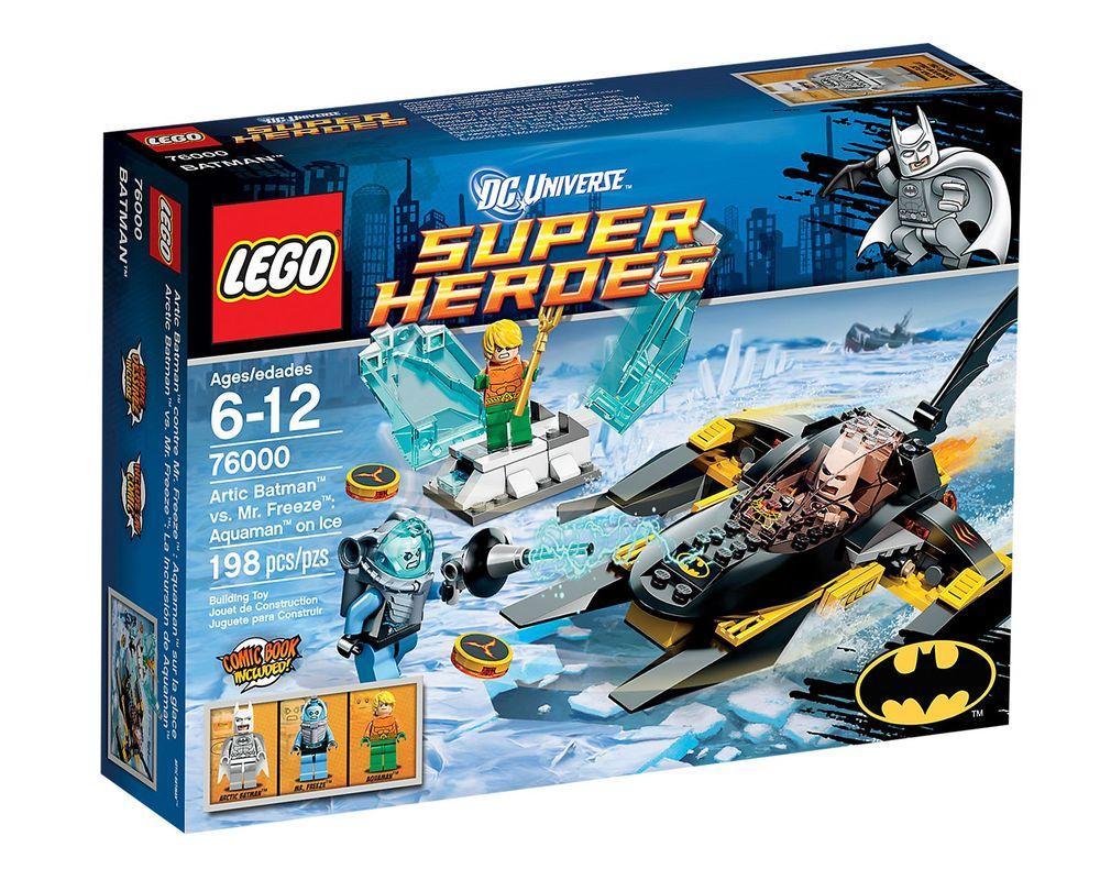 LEGO Set 76000-1 Arctic Batman vs. Mr. Freeze: Aquaman on Ice