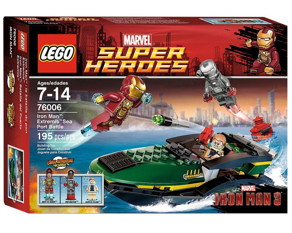 LEGO Set 76006-1 Iron Man: Extremis Sea Port Battle