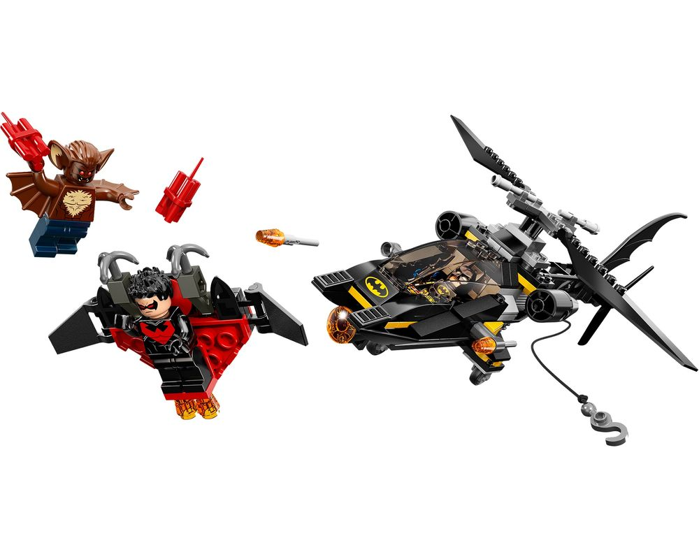 LEGO Set 76011-1 Batman: Man-Bat Attack (Model - A-Model)