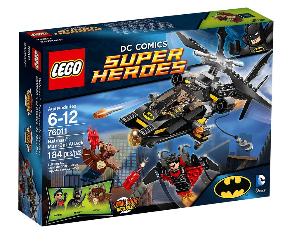 LEGO Set 76011-1 Batman: Man-Bat Attack
