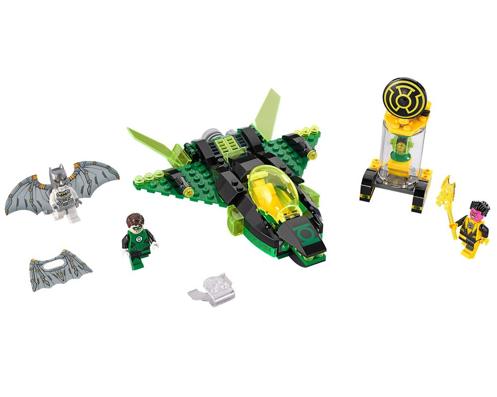 LEGO Set 76025-1 Green Lantern vs. Sinestro (Model - A-Model)