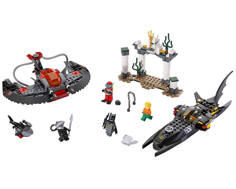 LEGO Set 76027-1 Black Manta Deep Sea Strike (Model - A-Model)