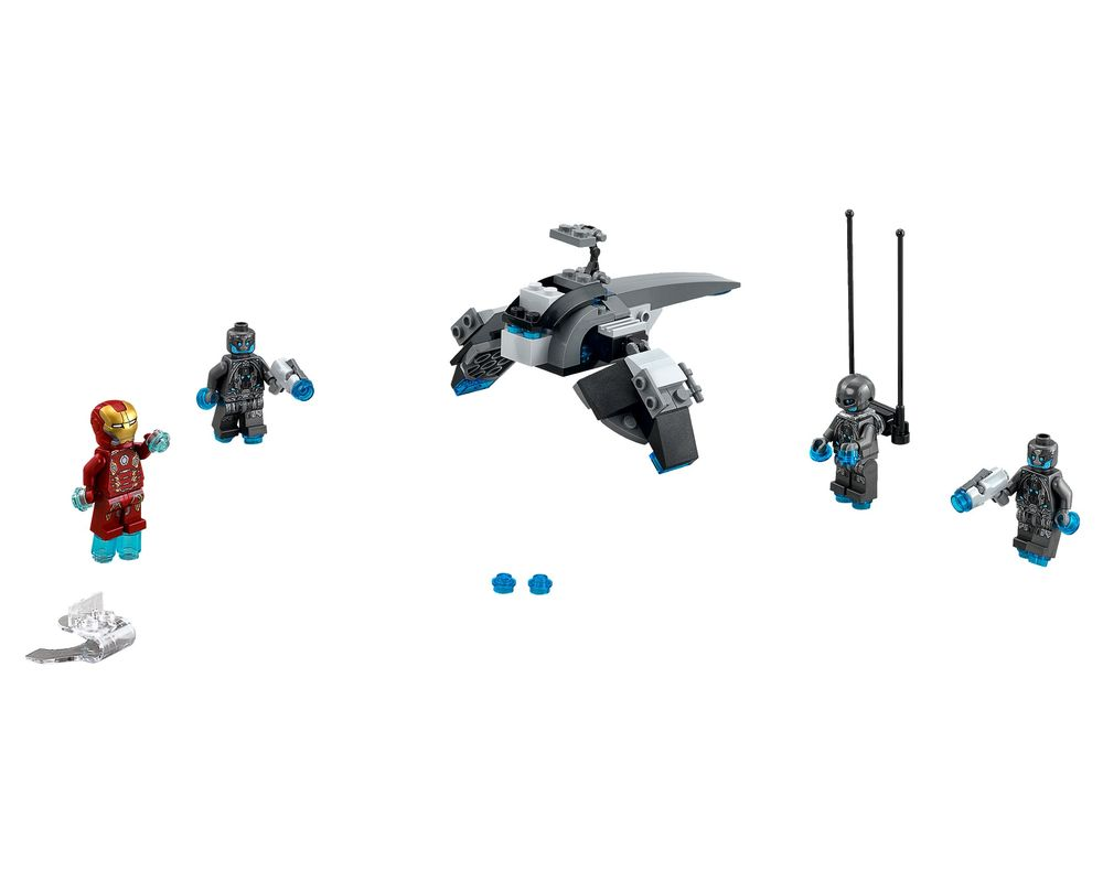 LEGO Set 76029-1 Iron Man vs. Ultron (LEGO - Model)