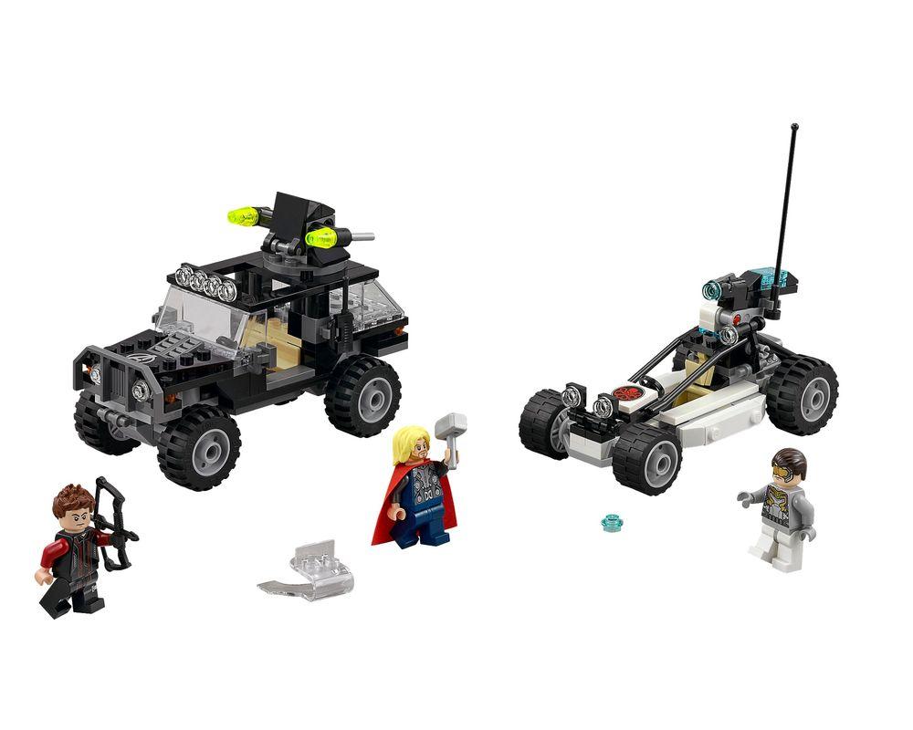 LEGO Set 76030-1 Avengers Hydra Showdown (LEGO - Model)