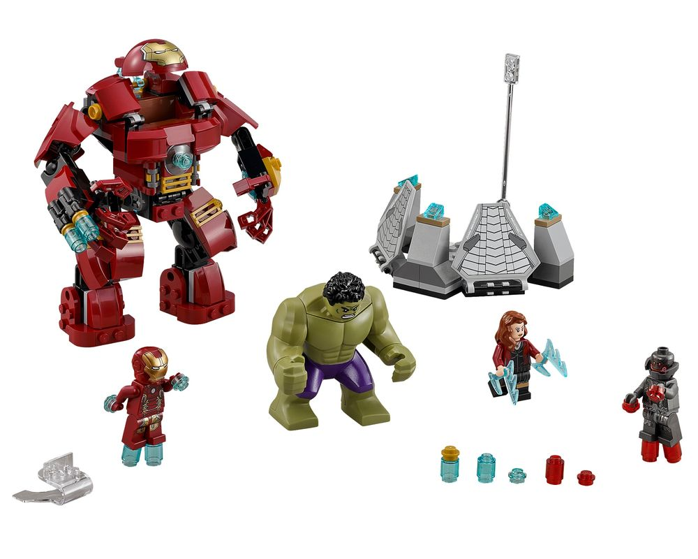 LEGO Set 76031-1 The Hulk Buster Smash (Model - A-Model)