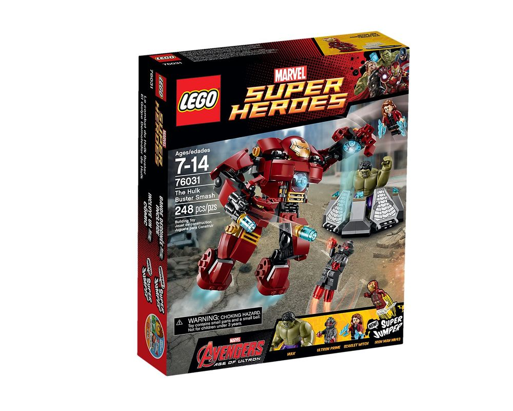 LEGO Set 76031-1 The Hulk Buster Smash