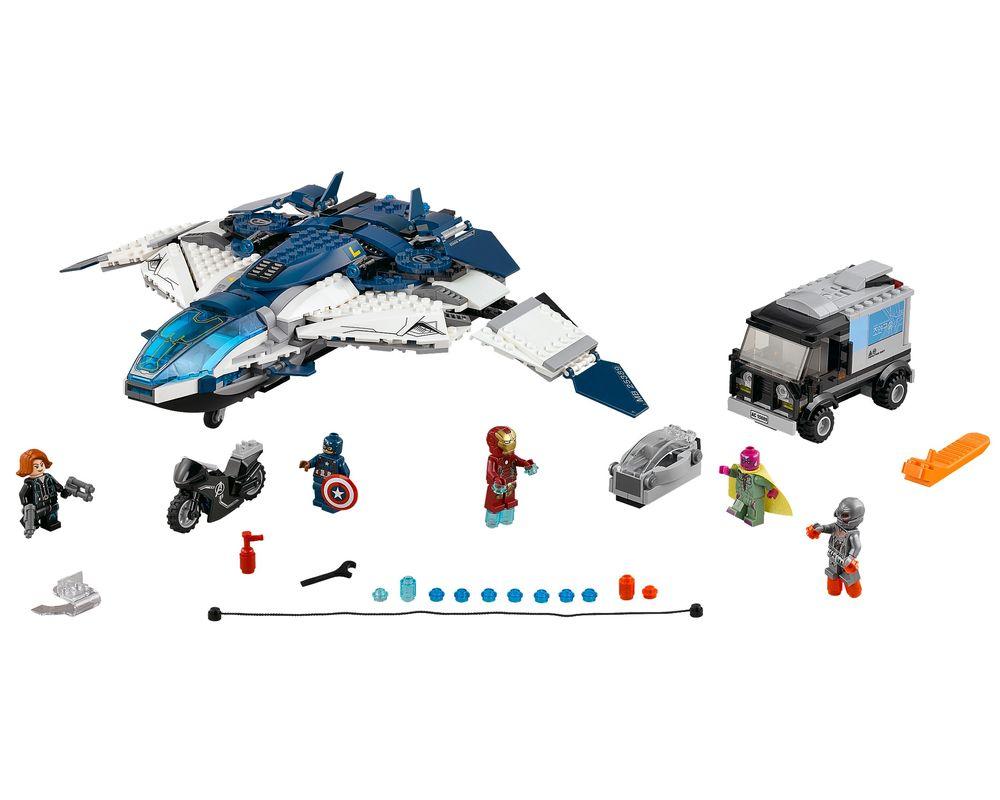 LEGO Set 76032-1 The Avengers Quinjet Chase (LEGO - Model)