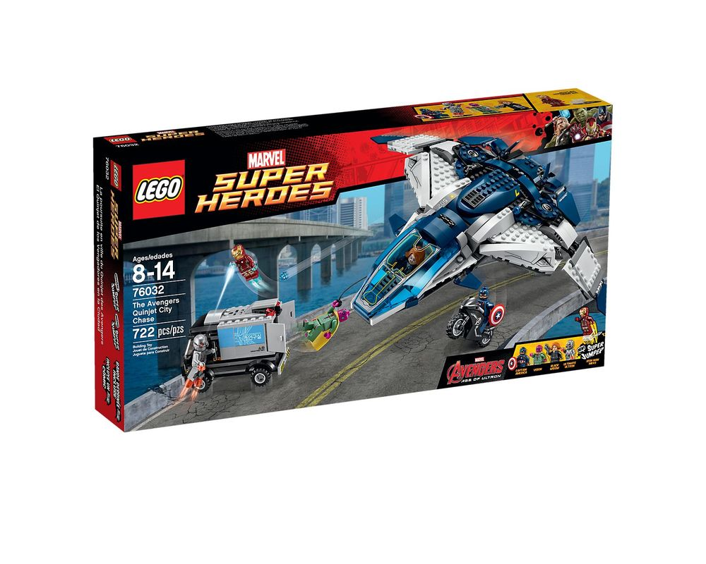 LEGO Set 76032-1 The Avengers Quinjet Chase