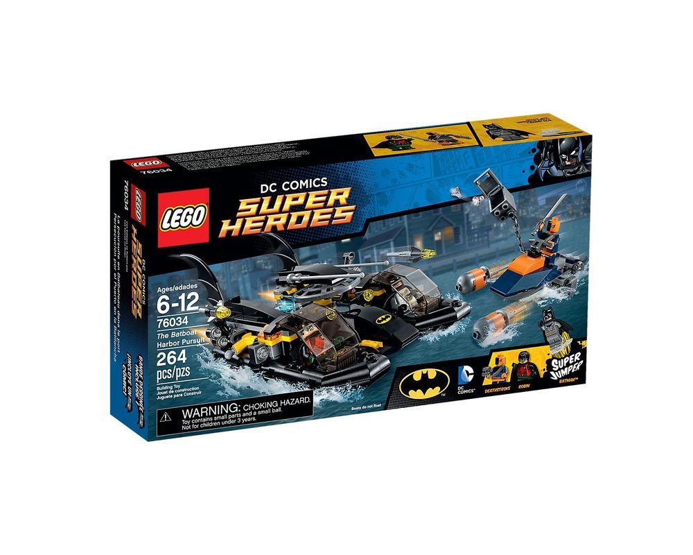 LEGO Set 76034-1 Batboat Harbor Pursuit
