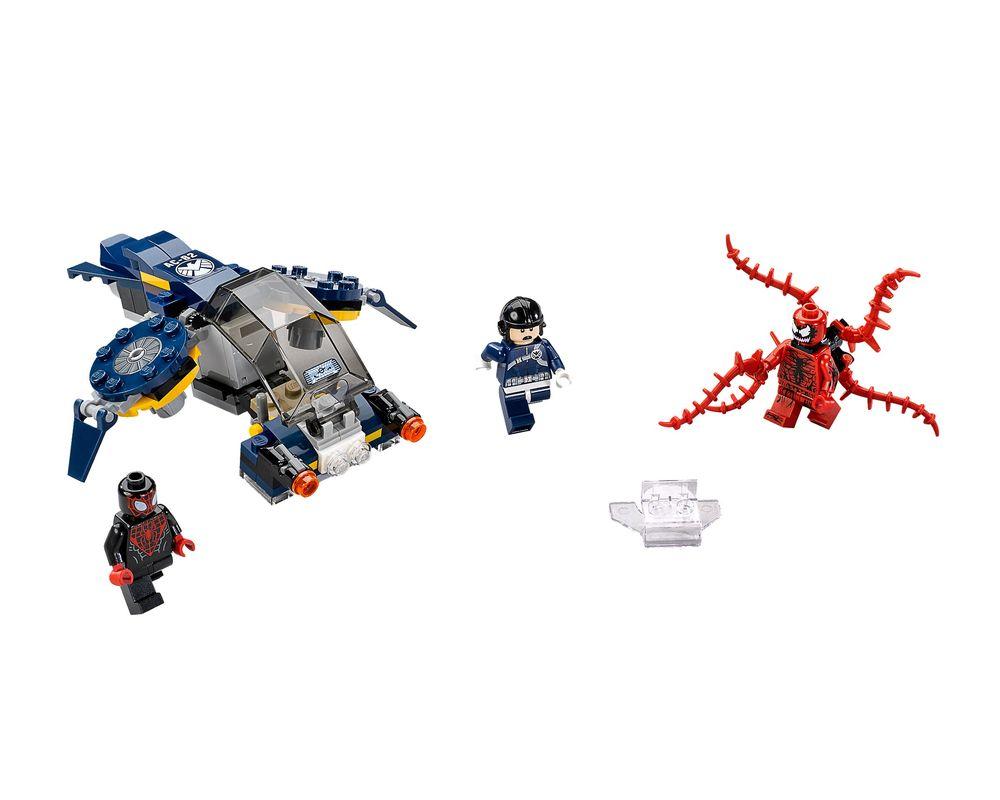 LEGO Set 76036-1 Carnage's Shield Sky Attack (LEGO - Model)