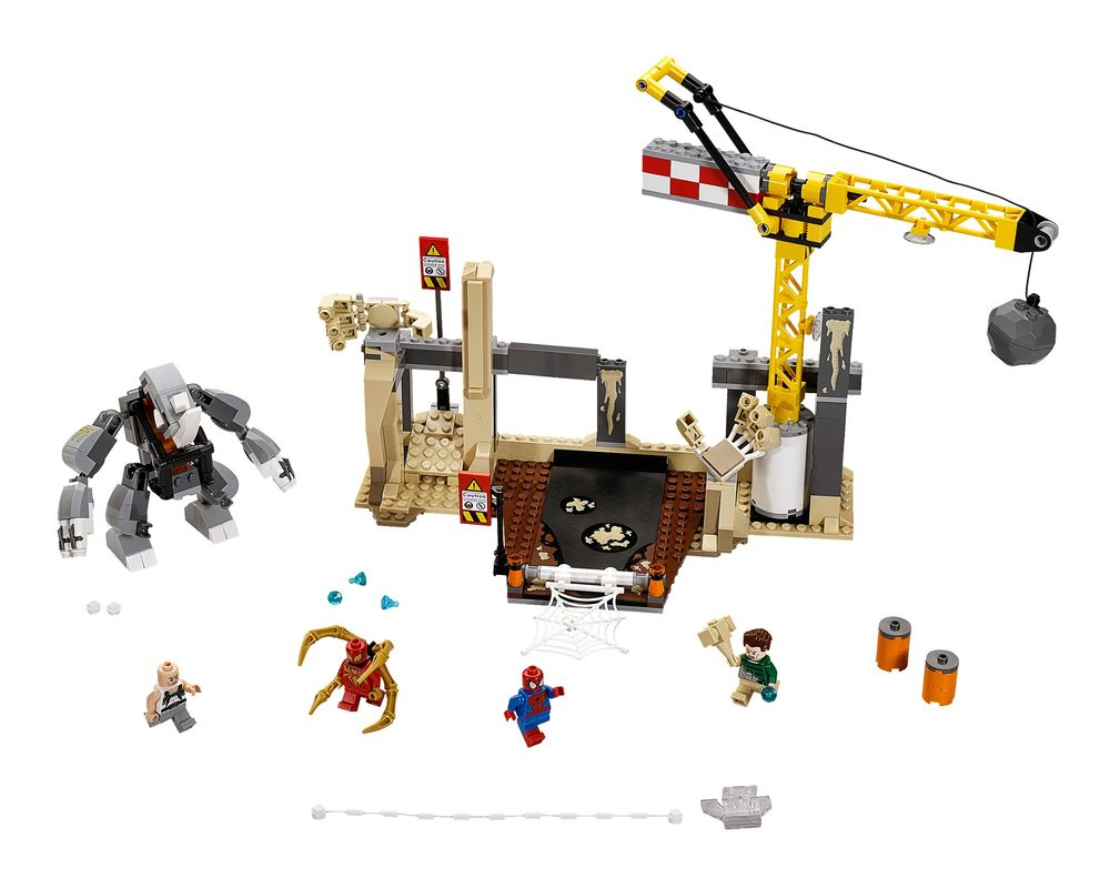 LEGO Set 76037-1 Rhino and Sandman Supervillain Team-up (Model - A-Model)