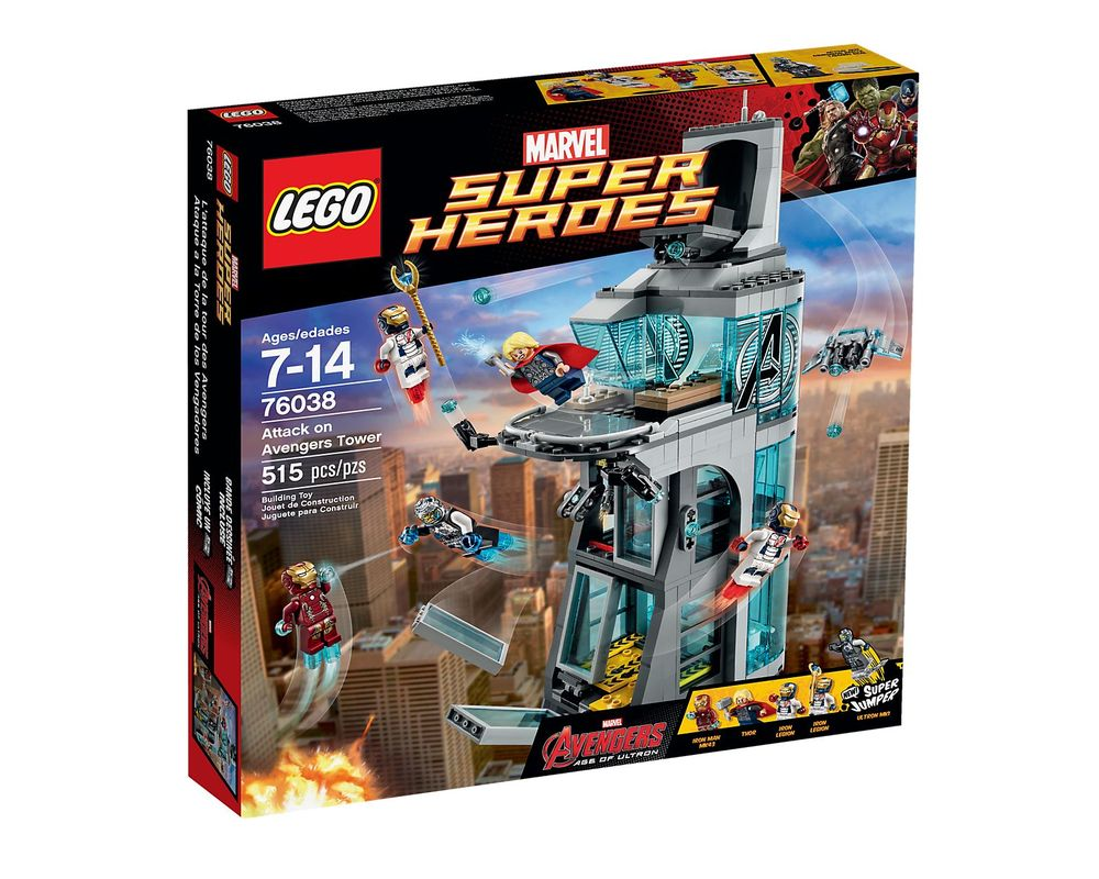 LEGO Set 76038-1 Attack on Avengers Tower