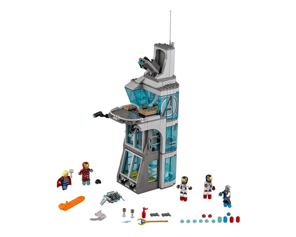 LEGO Set 76038-1 Attack on Avengers Tower (Model - A-Model)