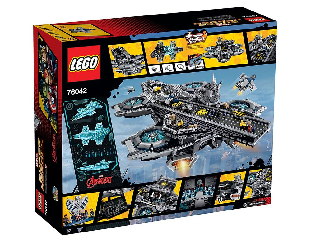 LEGO Set 76042-1 The SHIELD Helicarrier