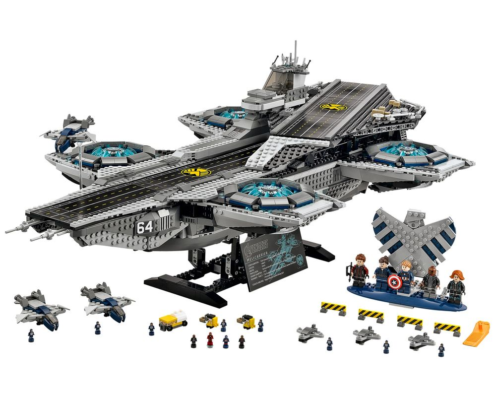 LEGO Set 76042-1 The SHIELD Helicarrier (Model - A-Model)