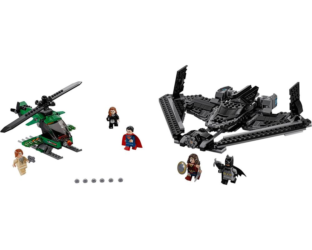 LEGO Set 76046-1 Heroes of Justice: Sky High Battle (Model - A-Model)