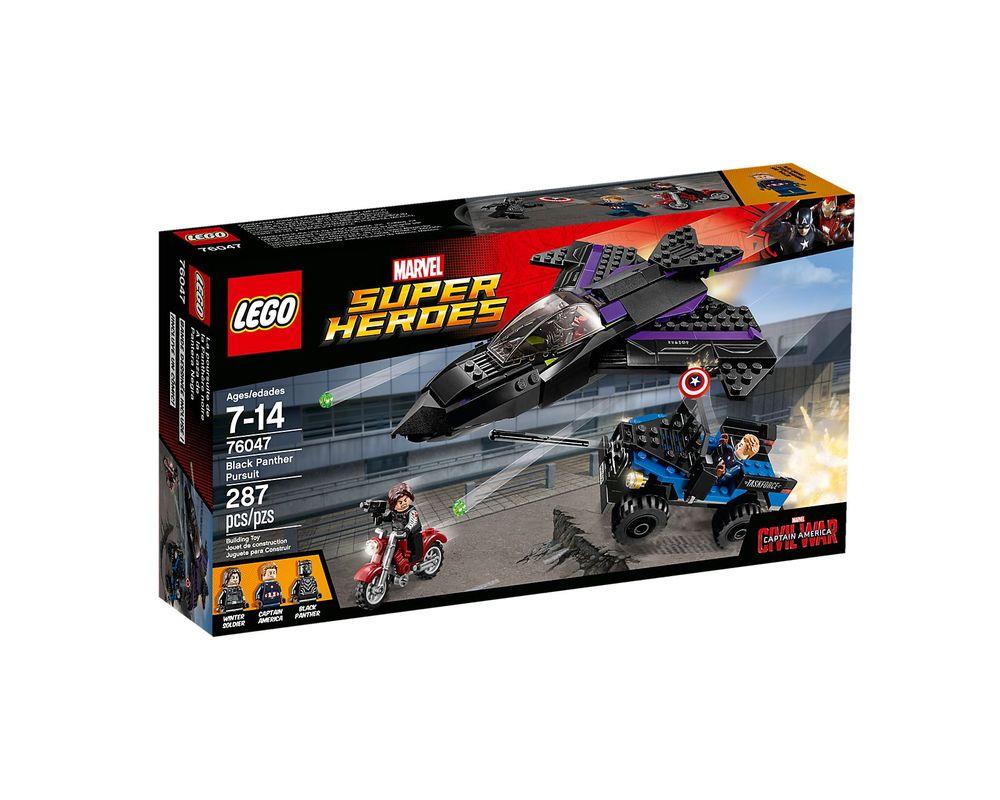 LEGO Set 76047-1 Black Panther Pursuit
