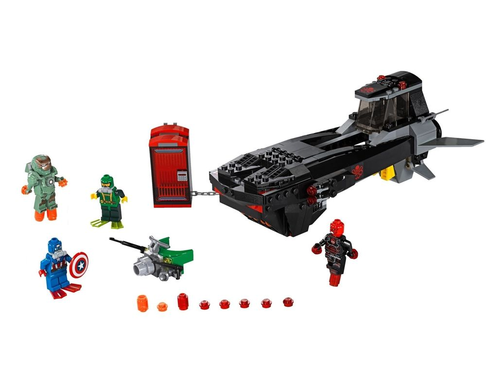 LEGO Set 76048-1 Iron Skull Sub Attack (Model - A-Model)