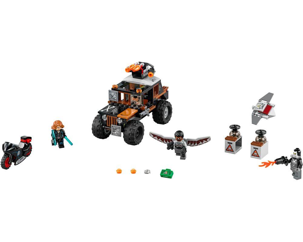 LEGO Set 76050-1 Crossbones' Hazard Heist (LEGO - Model)