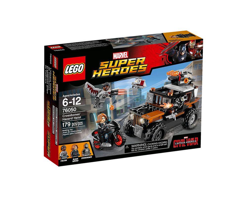 LEGO Set 76050-1 Crossbones' Hazard Heist