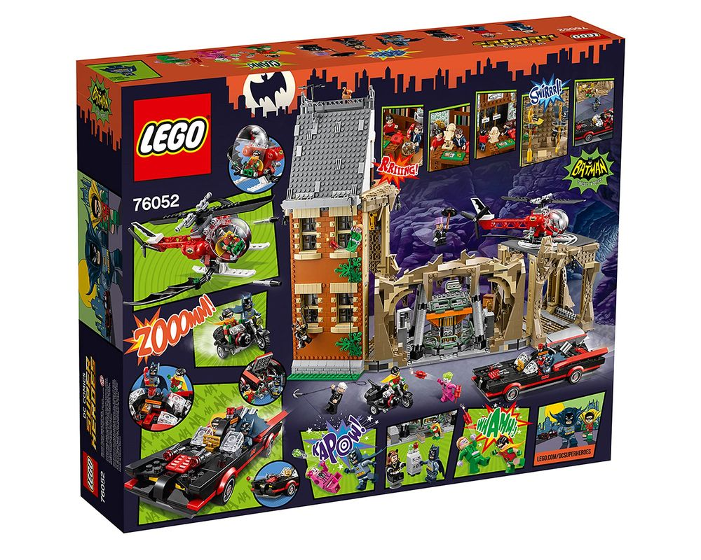 LEGO Set 76052-1 Batman Classic TV Series - Batcave