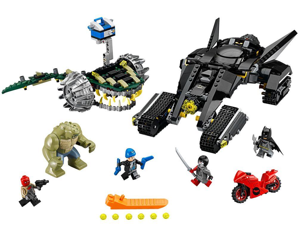 LEGO Set 76055-1 Batman: Killer Croc Sewer Smash (Model - A-Model)