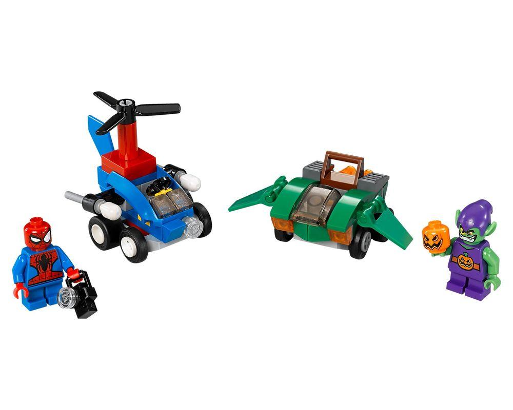 LEGO Set 76064-1 Mighty Micros: Spider-Man vs. Green Goblin (Model - A-Model)