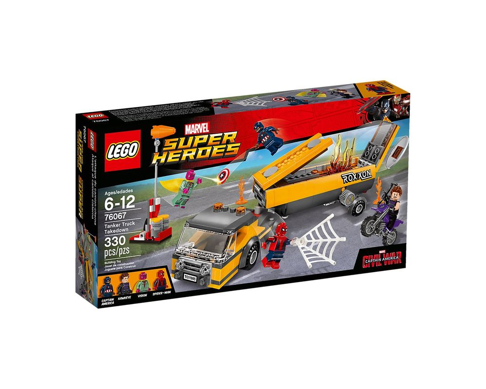 LEGO Set 76067-1 Tanker Truck Takedown