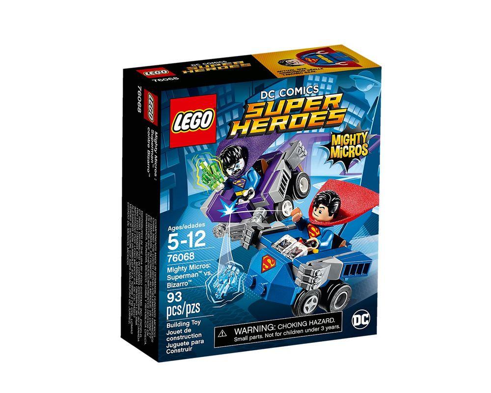 LEGO Set 76068-1 Mighty Micros: Superman vs. Bizarro
