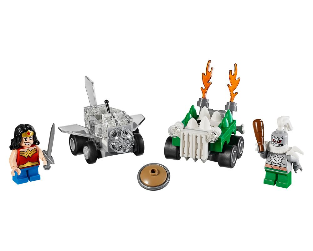 LEGO Set 76070-1 Mighty Micros: Wonder Woman vs. Doomsday (LEGO - Model)