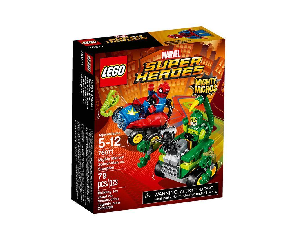 LEGO Set 76071-1 Mighty Micros: Spider-Man vs. Scorpion