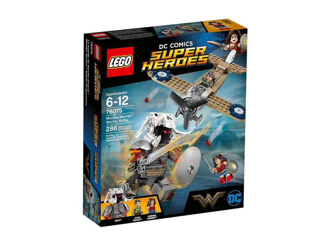 LEGO Set 76075-1 Wonder Woman Warrior Battle