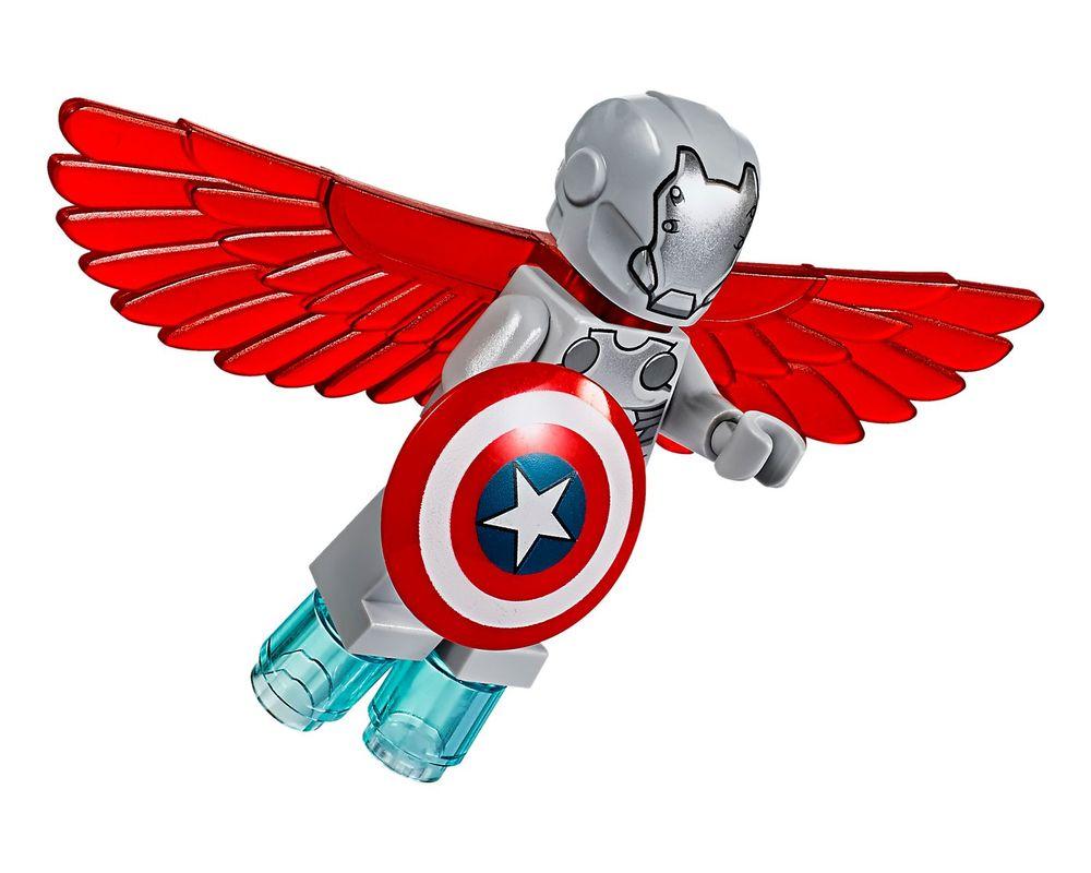 LEGO Set 76076-1 Captain America Jet Pursuit