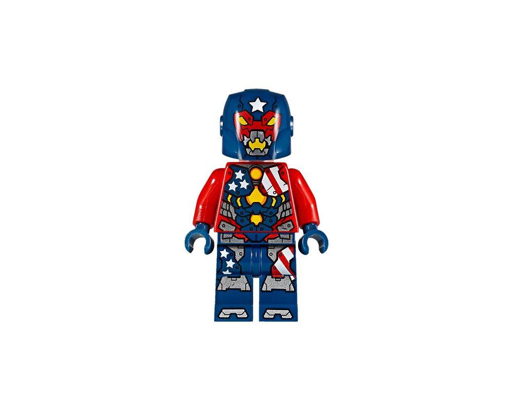 LEGO Set 76077-1 Iron Man: Detroit Steel Strikes