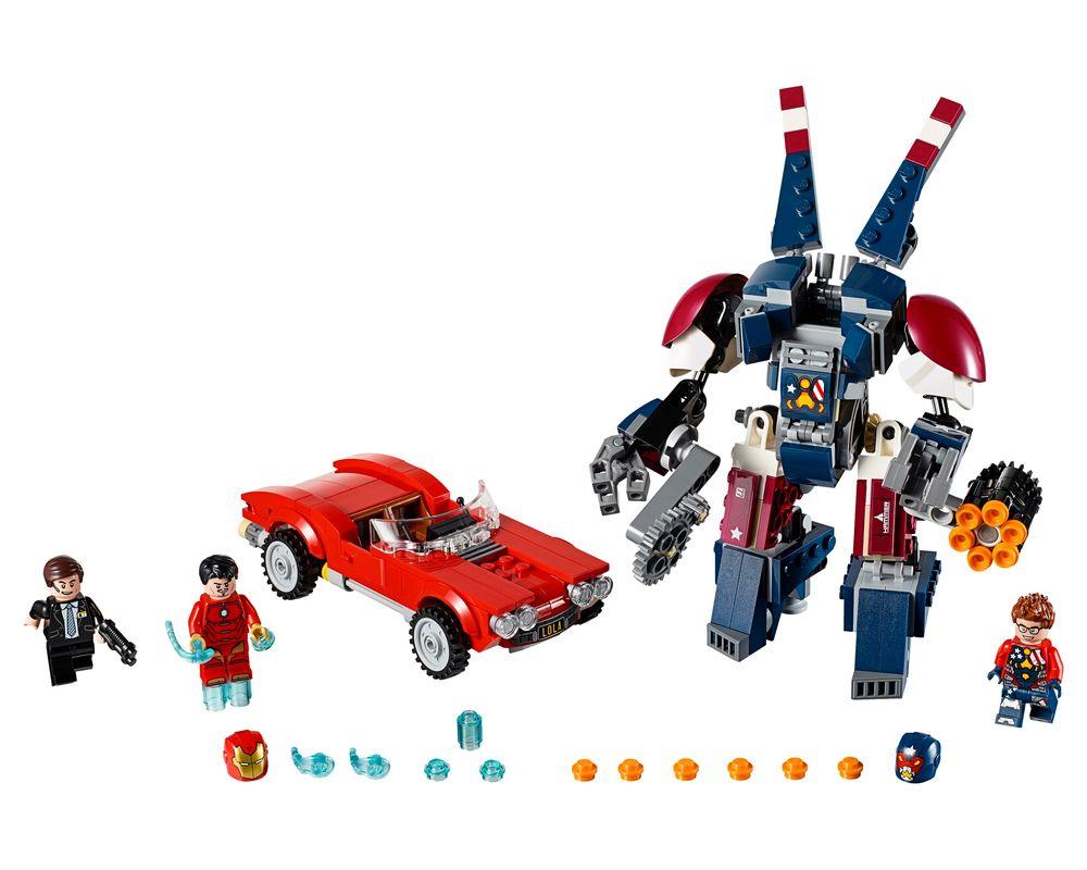 LEGO Set 76077-1 Iron Man: Detroit Steel Strikes (Model - A-Model)