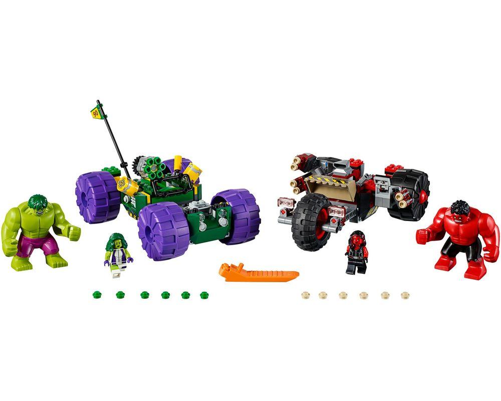 LEGO Set 76078-1 Hulk vs. Red Hulk (Model - A-Model)