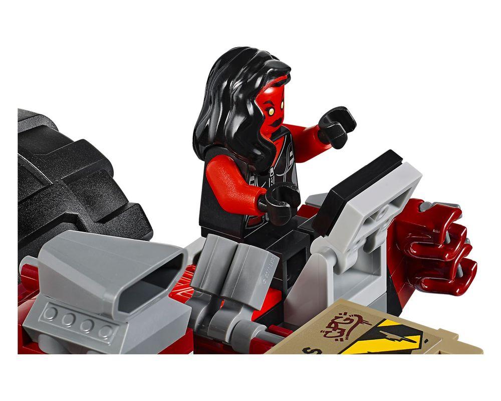 LEGO Set 76078-1 Hulk vs. Red Hulk