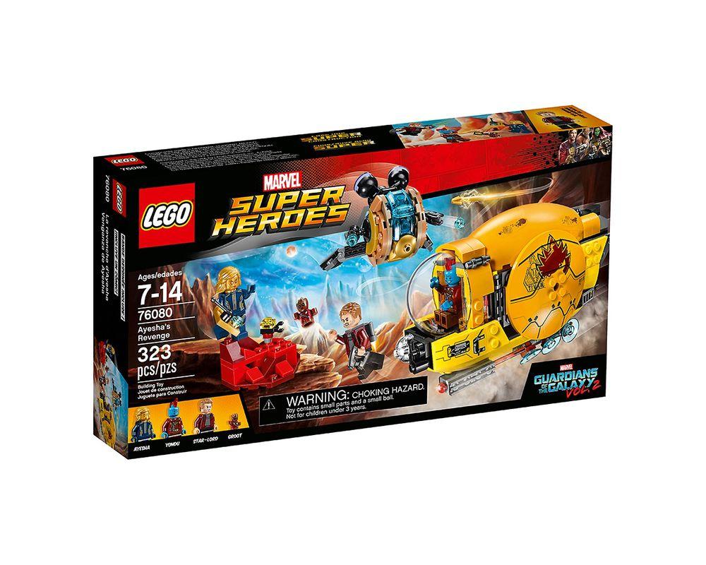 LEGO Set 76080-1 Ayesha's Revenge