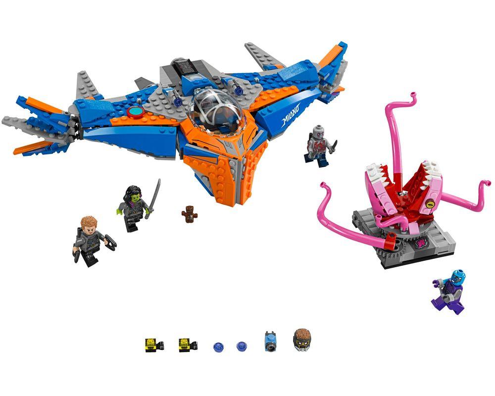 LEGO Set 76081-1 The Milano vs. The Abilisk (Model - A-Model)
