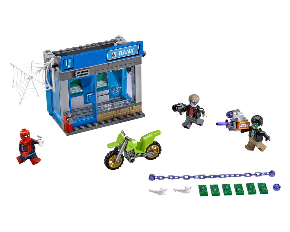 LEGO Set 76082-1 ATM Heist Battle (Model - A-Model)