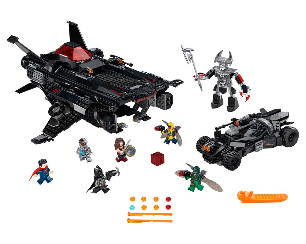 LEGO Set 76087-1 Flying Fox: Batmobile Airlift Attack (Model - A-Model)
