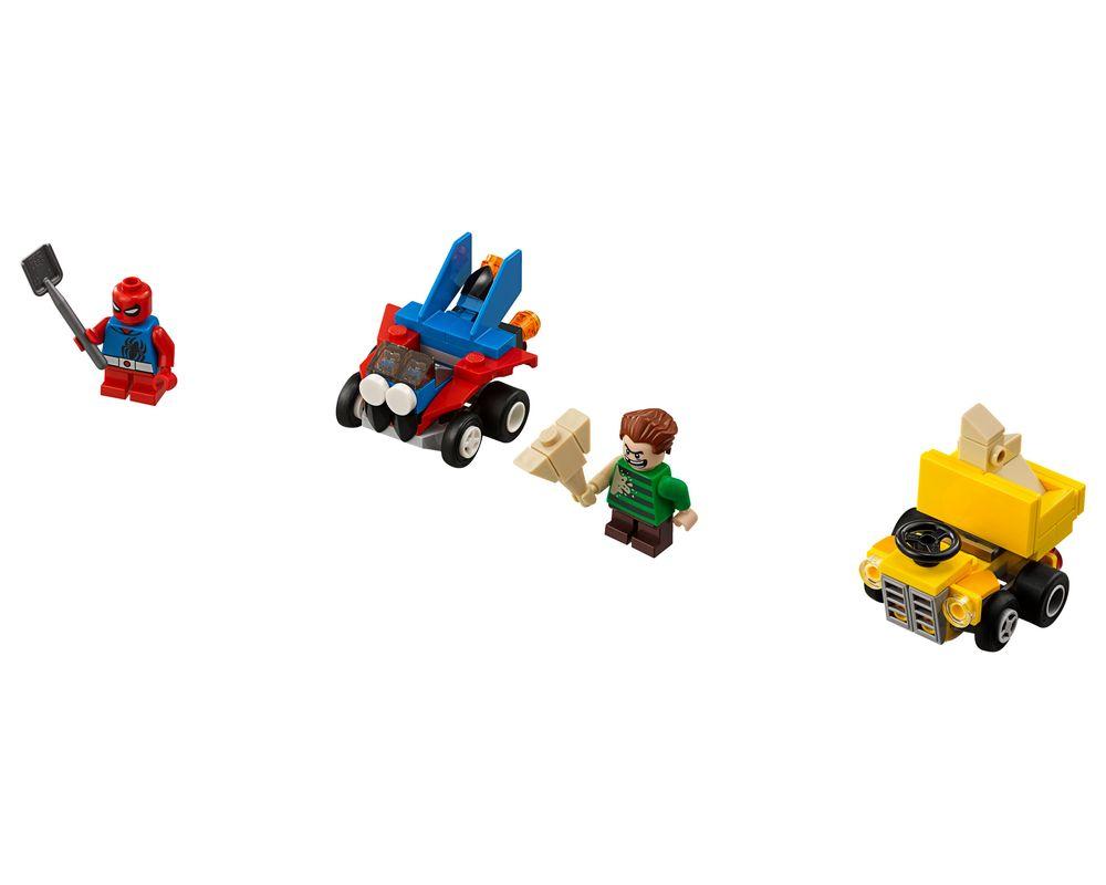 LEGO Set 76089-1 Mighty Micros: Scarlet Spider vs. Sandman (LEGO - Model)