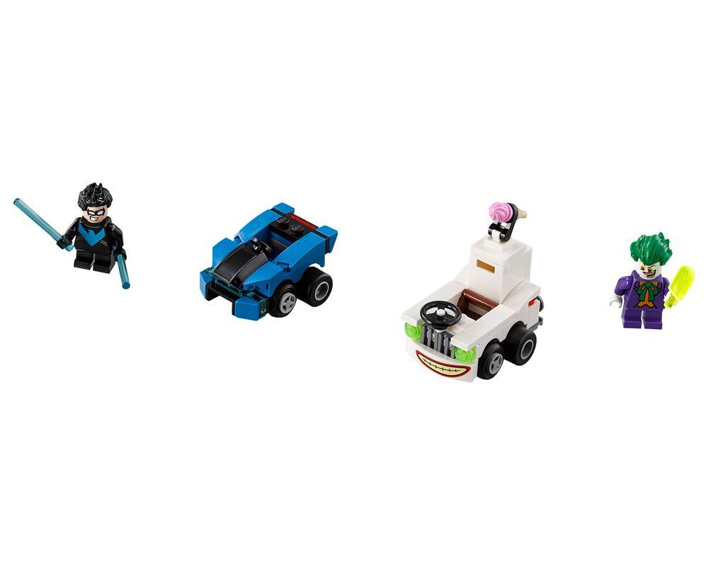 LEGO Set 76093-1 Mighty Micros: Nightwing vs. The Joker (LEGO - Model)
