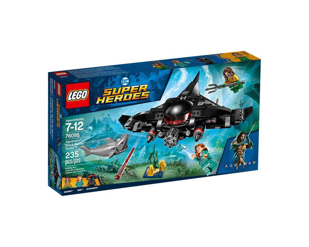 LEGO Set 76095-1 Black Manta Strike