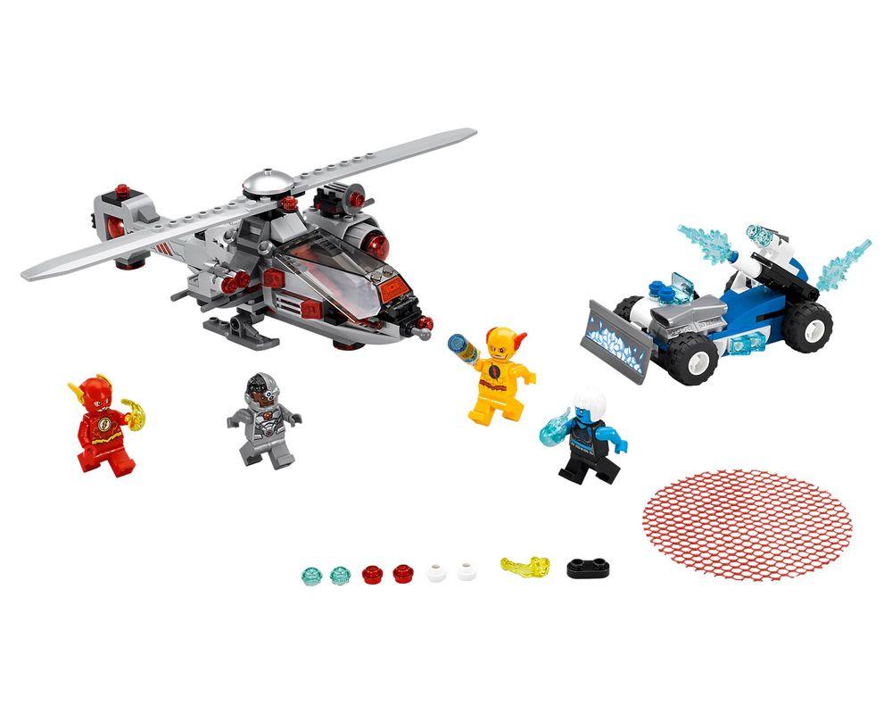 LEGO Set 76098-1 Speed Force Freeze Pursuit (LEGO - Model)
