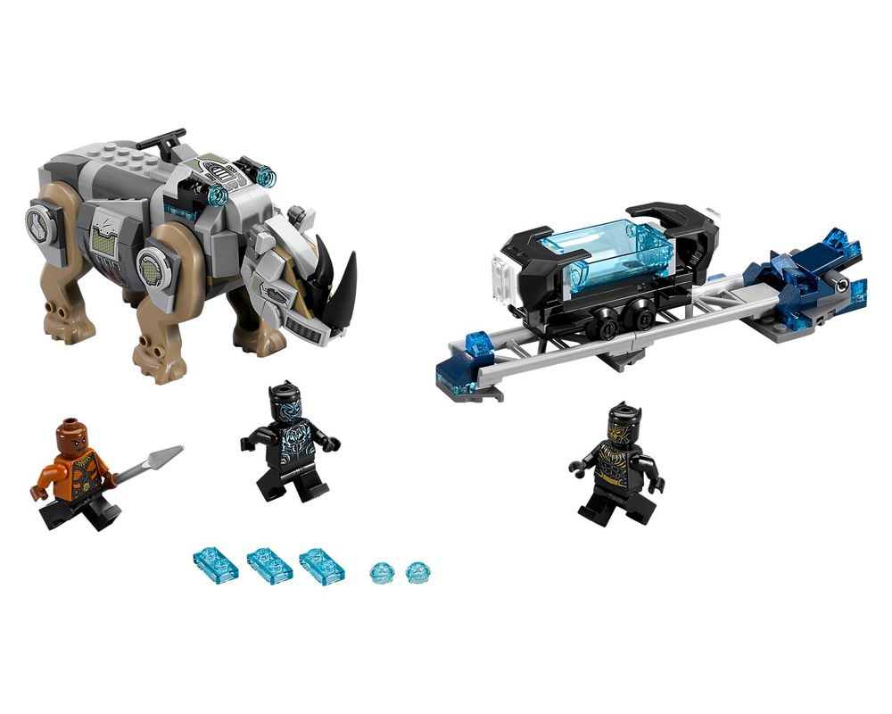 LEGO Set 76099-1 Rhino Face-Off by the Mine (Model - A-Model)