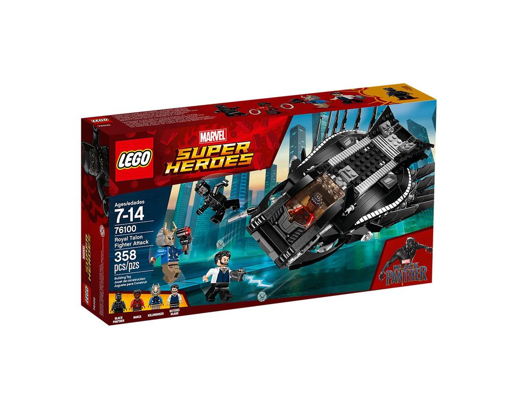 LEGO Set 76100-1 Royal Talon Fighter Attack