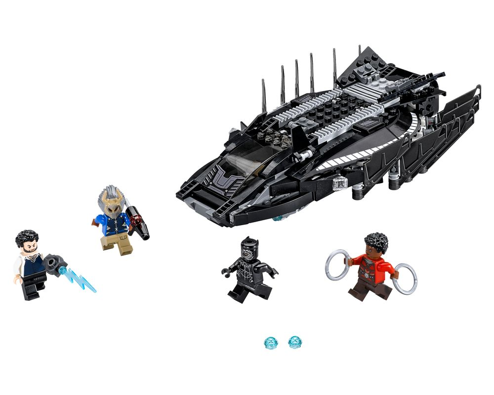 LEGO Set 76100-1 Royal Talon Fighter Attack (LEGO - Model)